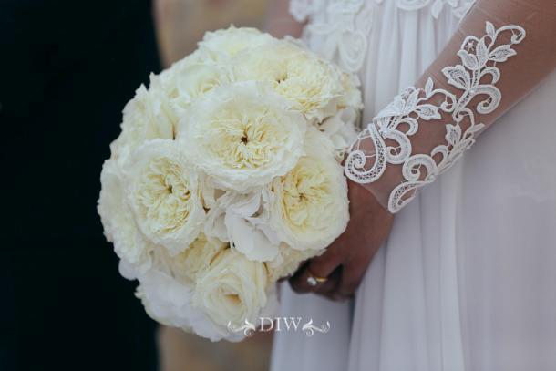 Bouquet Sposa Total White.Barbara Botta Flower Weddings Ceremonies Corporate Events