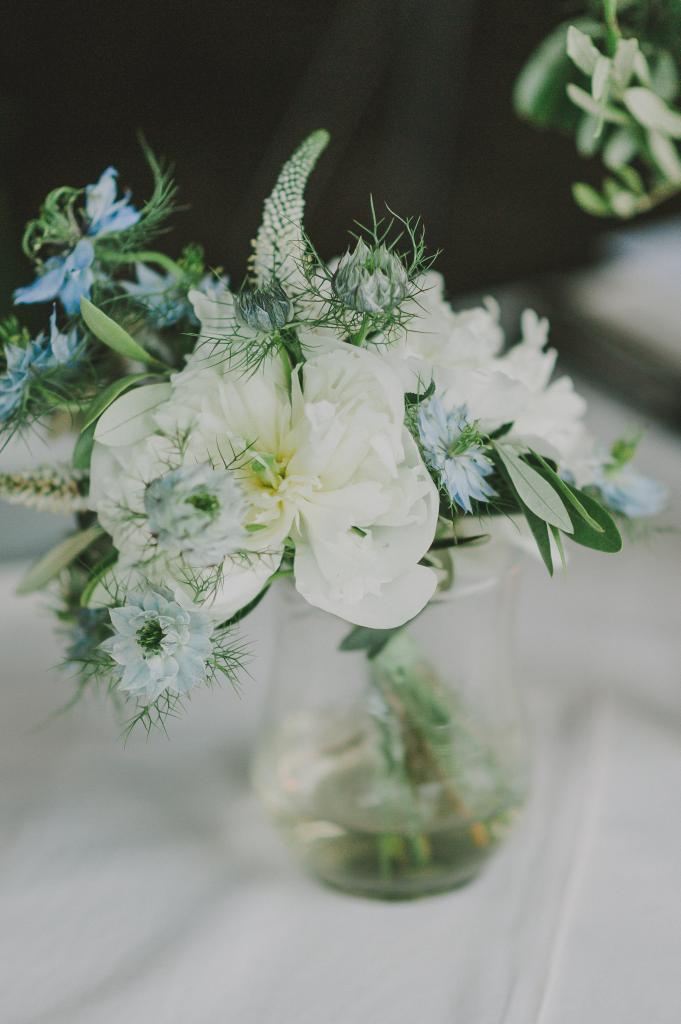 Rose Quartz & Serenity Flower Inspiration
