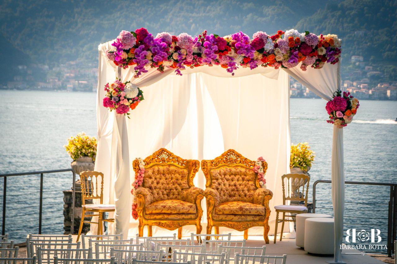 Indian Wedding Villa D'Este